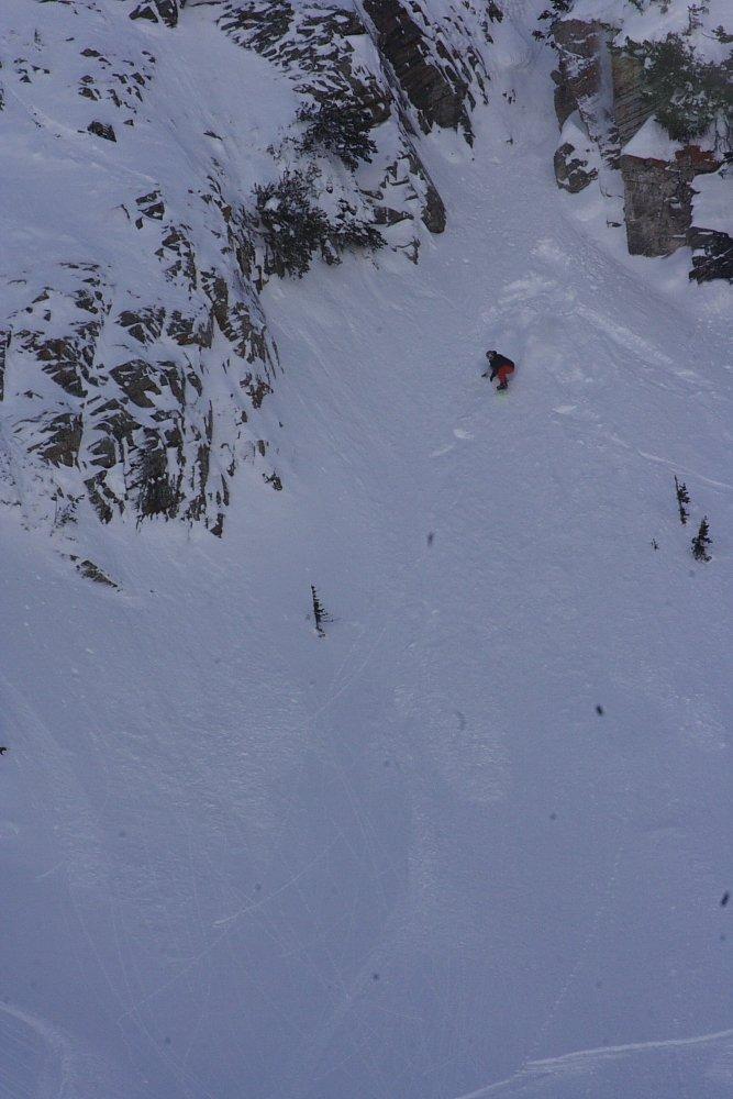 Aaron Robinson Cliff Stomp Photo: Mike Hardaker