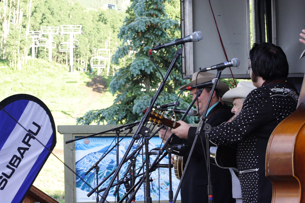 Bluegrass Festival Pictures - Photographer Mike Hardaker Mountain Weekly Colorado News