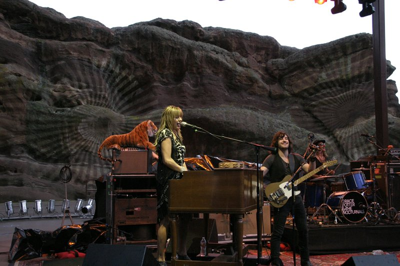 Grace Potter Red Rocks Picture: Soren McCarty Mountain Weekly Colorado News