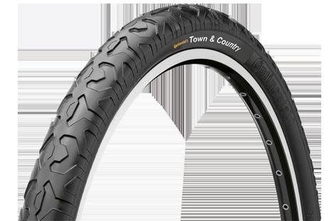 Town & County Continental Bicycle Tire