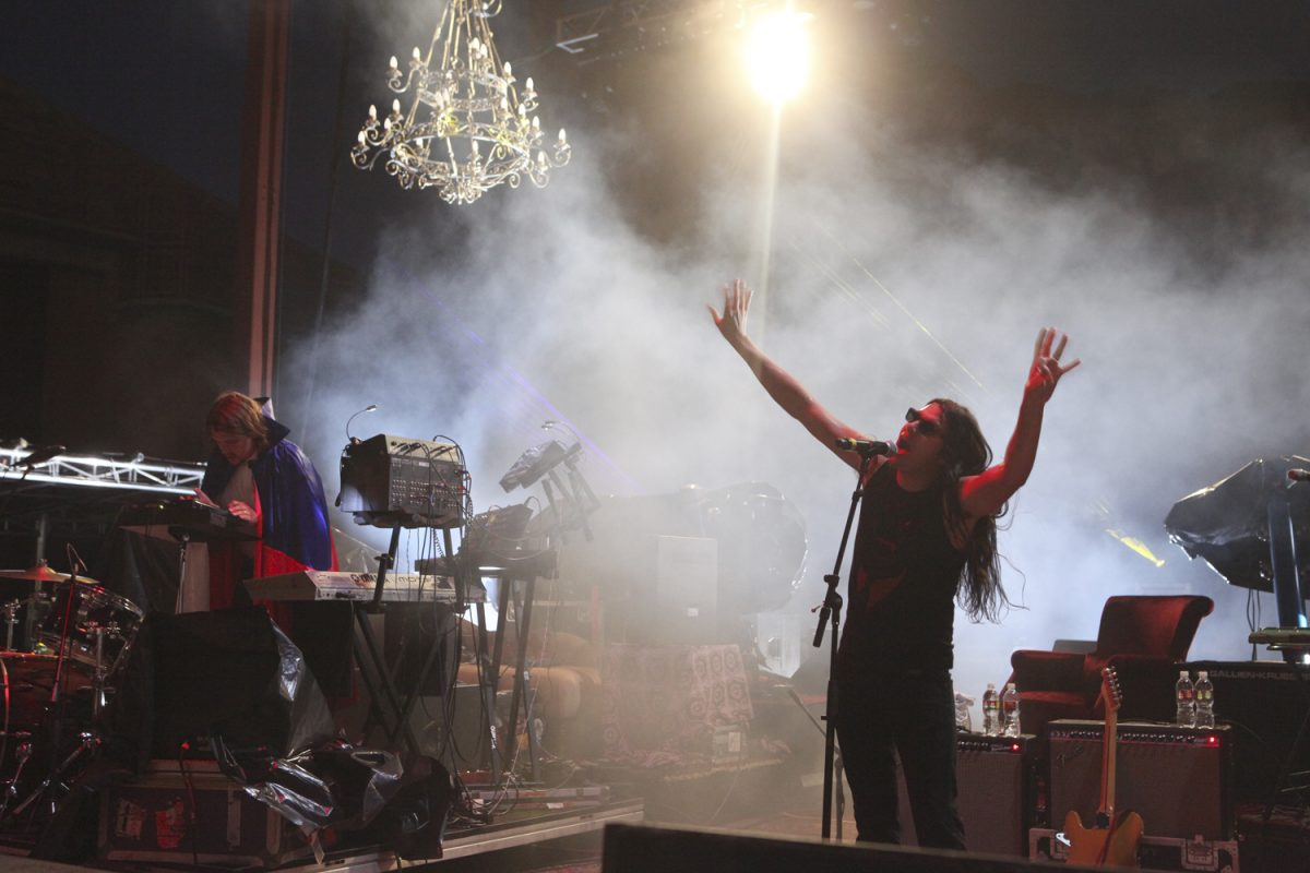 Ghostland Observatory in Concert Picture Soren McCarty Mountain Weekly News