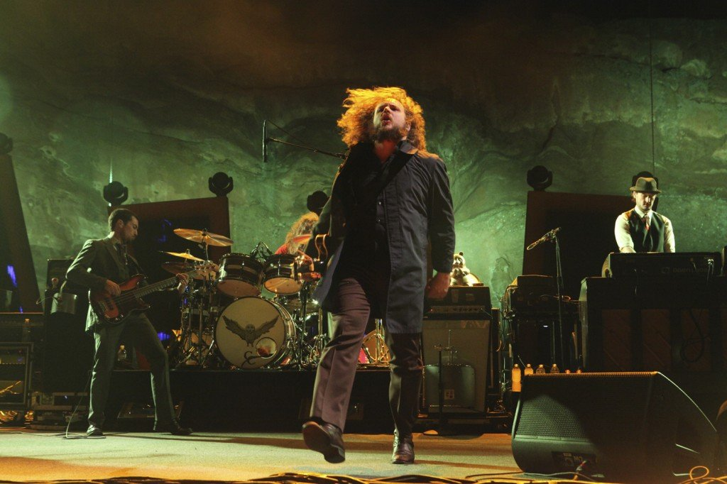 My Morning Jacket in Concert at Red Rocks in Morriosn, Colorado on August 4, 2011 Photo By Soren McCarty http://www.sorenmccartyphotography.com https://www.mtnweekly.com