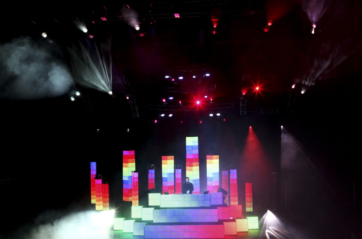 Pretty Lights Concert Pictures Soren McCarty Mountain Weekly News