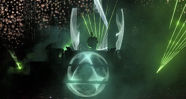 Pretty Lights in concert at Red Rocks in Morrison, Colorado on August 13, 2011 Photo By Soren McCarty