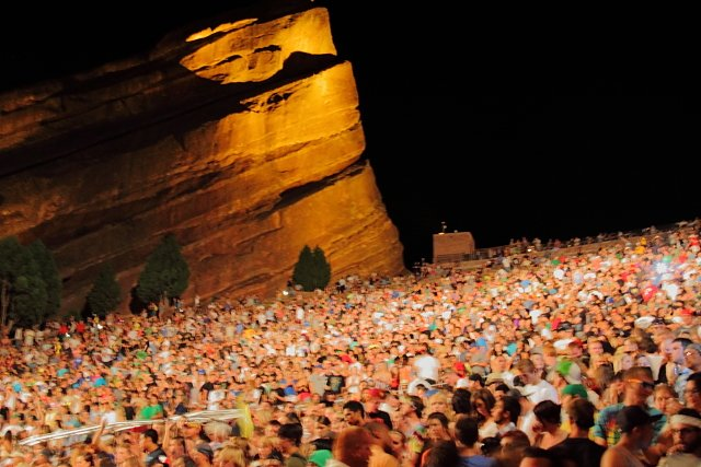 Slightly Stoopid Seedless Tour Red Rocks Photo: Justin McCarty | Mountain Weekly