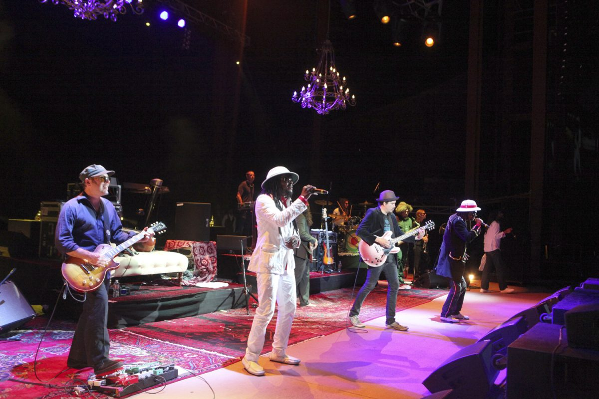 Thievery Corporation in Concert Picture Soren McCarty Mountain Weekly News
