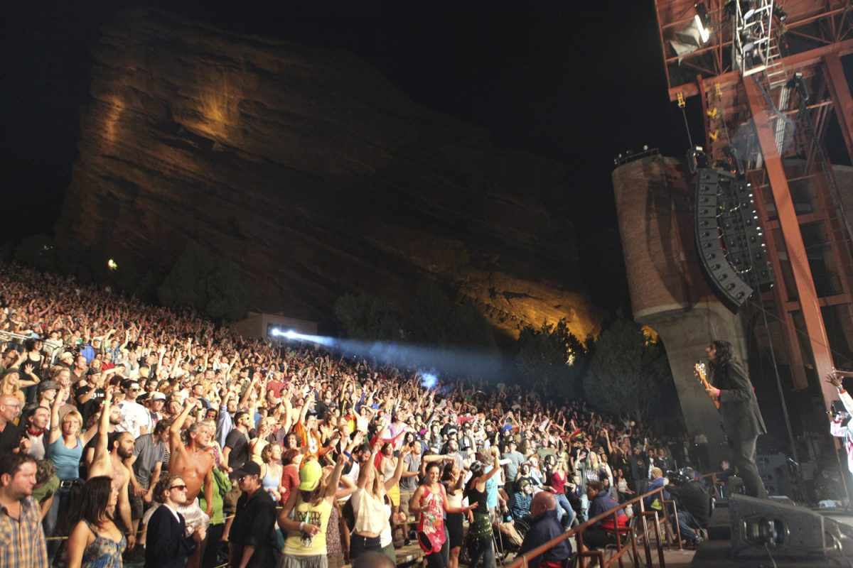 2014 Red Rocks Schedule Starting to Fill Up