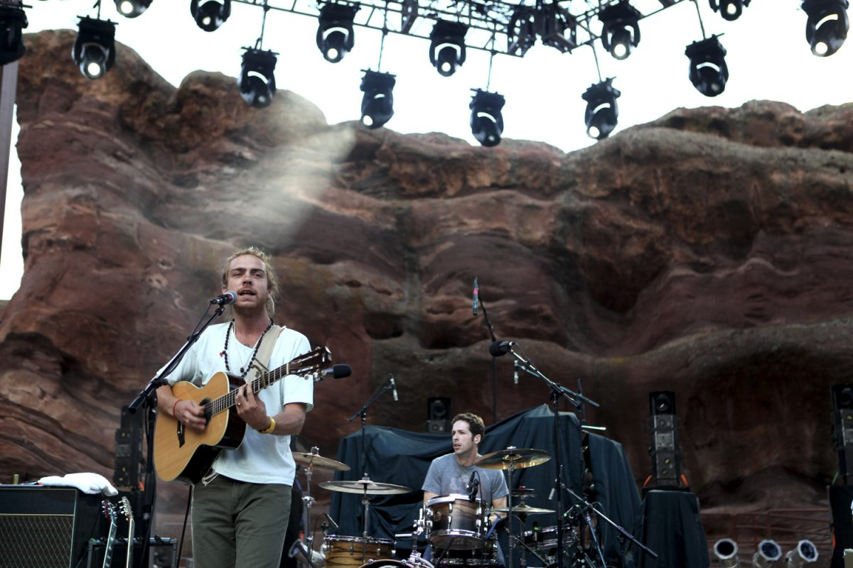 Trevor Hall performs at the John Butler Trio Concert at Red Rocks in Morrison Colorado on August 12, 2011 Photo By Soren McCarty http://www.sorenmccartyphotography.com https://www.mtnweekly.com