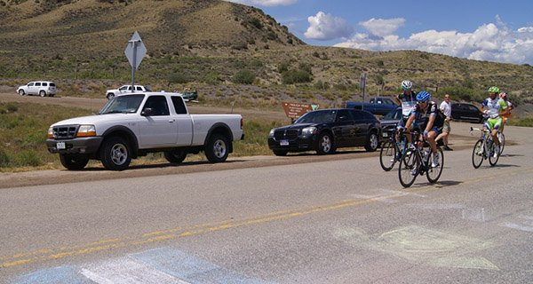 USA Pro Challenge rolling through Colorado