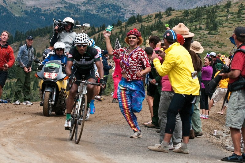 USA Pro Challenge Fan John Hopper Photo: Kevin Krill | Mountain Weekly News