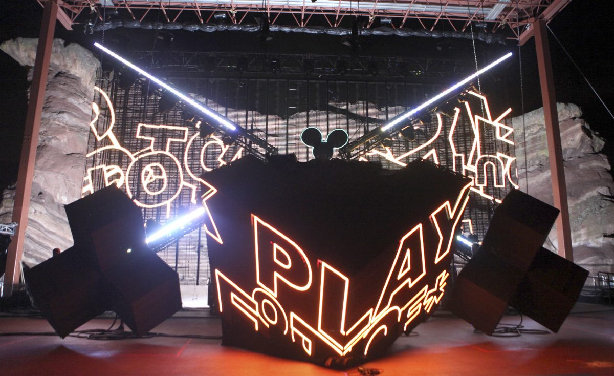 Deadmau5 Picture Soren McCarty https://mtnweekly.com Red Rocks 2011