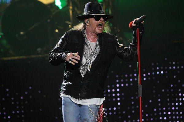 Axl Rose Guns N' Roses Photo Brandon Marshall | Mountain Weekly News