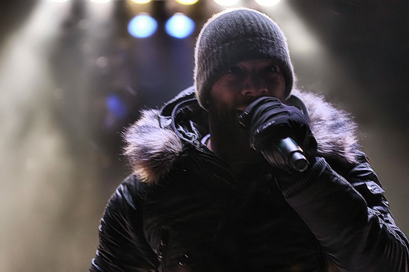 Common performs at Red Rocks during Icelantic Winter on the Rocks Photo Brandon Marshall | Mountain Weekly News