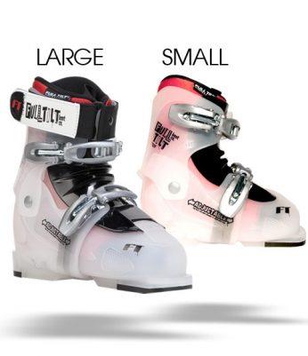 Full Tilt Growth Spurt Adjustable Kids Ski Boot Review
