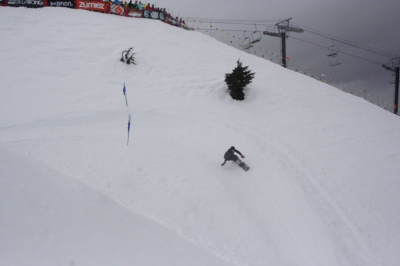 Slalom Snowboarding - 2012 LBS Photo Mike Hardaker - Mountain Weekly News