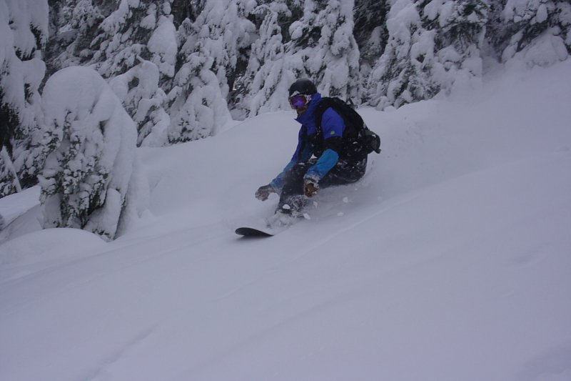 Flat light conditions not a problem with the Aibrakes Mike Hardaker Mt Baker 2-1-11 Photo Morgan Hebert
