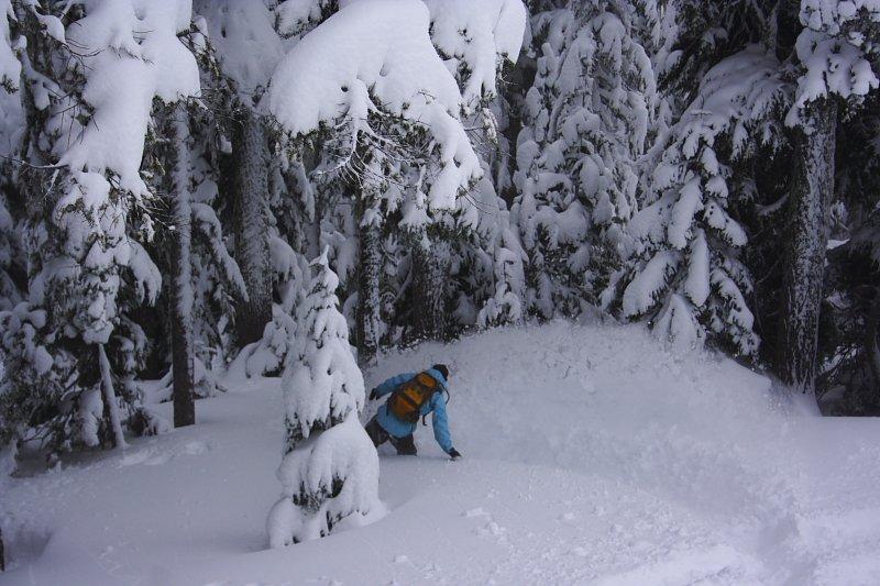 Mt. Baker Powder Day Snowboarding