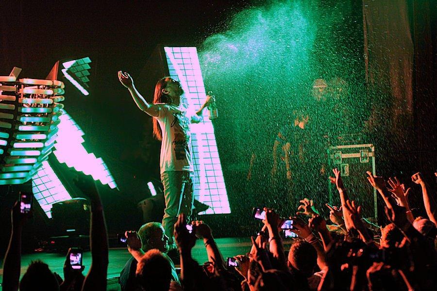 Steve Aoki Concert Photo Brandon Marshall - Mountain Weekly News