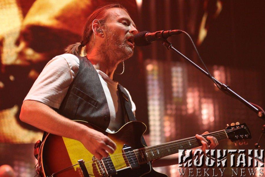 Radiohead Tour Photo Brandon Marshall - Mountain Weekly News