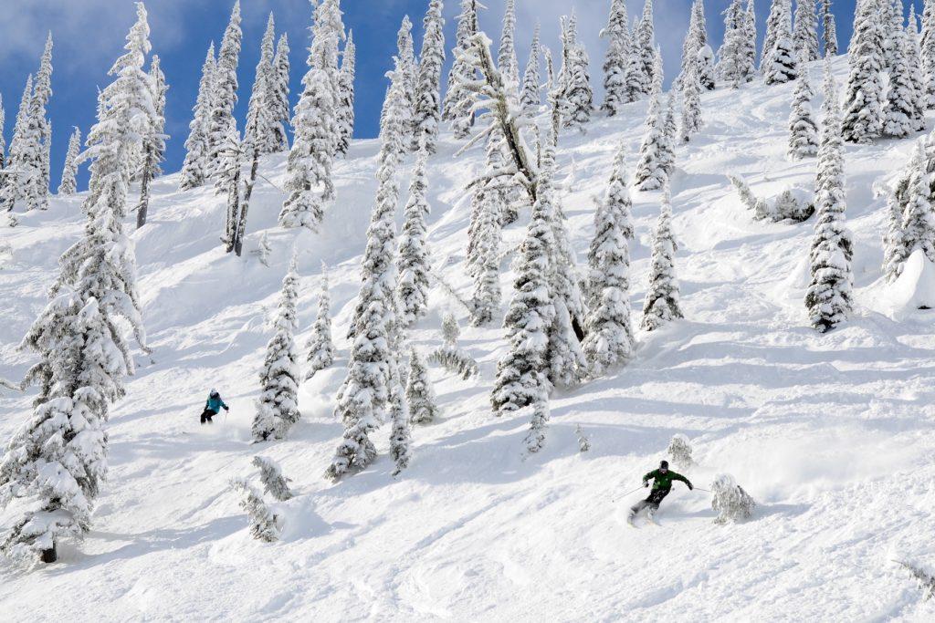 schweitzer skiing