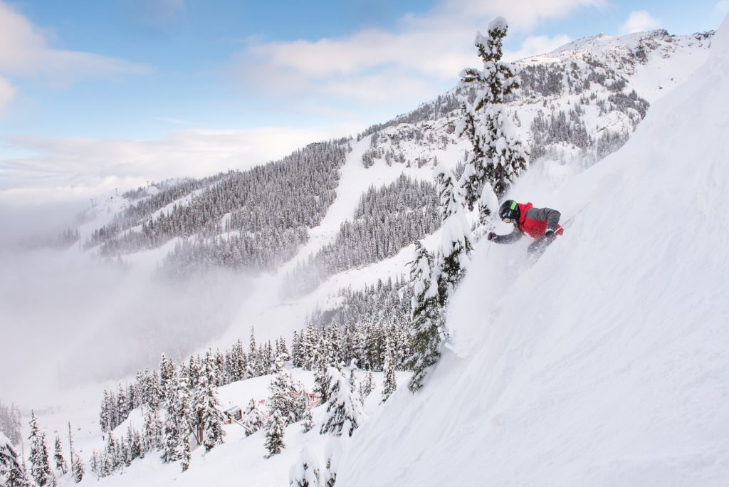 whistler powder snow