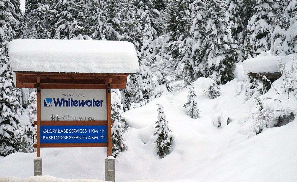 Whitewater Ski Area Nelson BC
