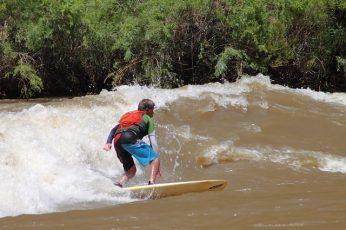 Colorado River Surfing on Big Sur