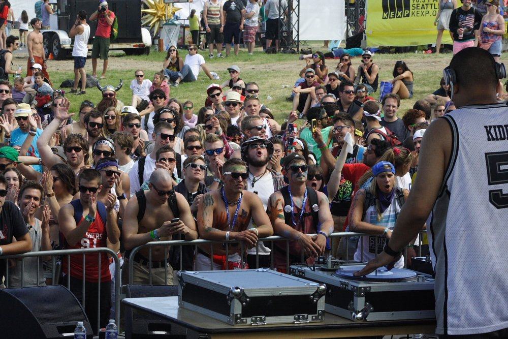 Hip Hop at the Sasquatch Music Festival Photo Mike Hardaker