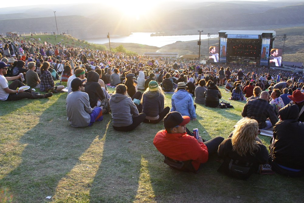 Gorge Amphitheater Sasquatch Music Festival Photo Mike Hardaker