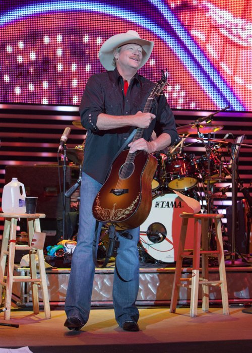 Alan Jackson Photo by Bryan Flansburg from Red Rocks 06-28-2012