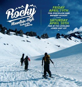 Rocky Mountain High Backountry Gathering