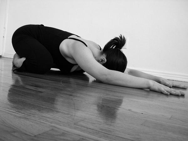 Childs Yoga Pose