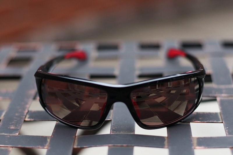 Front view of the Bolle Diablo sunglasses.