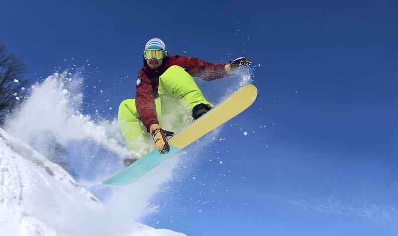 Advanced Snowboarder