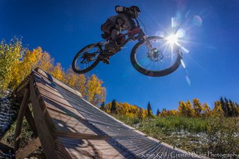 Riding the Crested Butte Bike Park