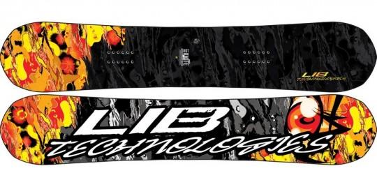 Lib Tech Hot Knife C3 BTX Snowboard Review