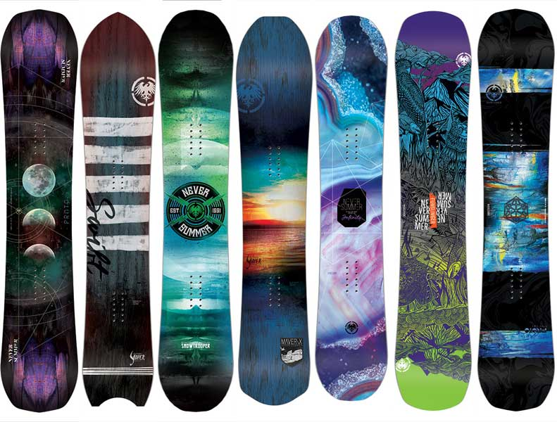 Never Summer Snowboards