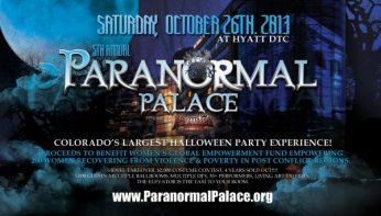 Paranormal Palace Denver Halloween