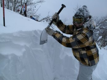 How to Use a Snow Shovel for Avalanche Rescue