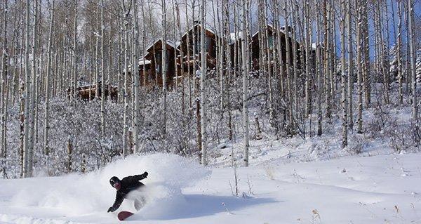 Justin McCarty Having Fun at Beaver Creek Mountain Resort | Photo Mike Hardaker