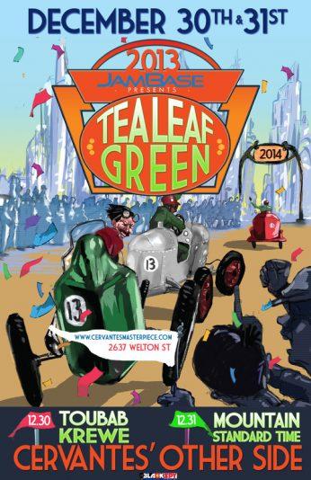 Interview with Trevor Garrod of Tea Leaf Green