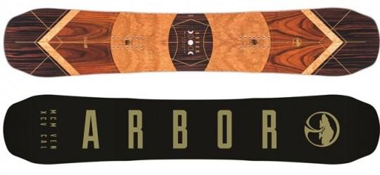 Arbor Wasteland Rocker Snowboard Review