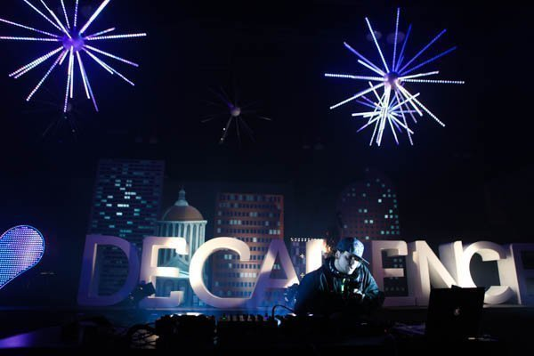 Pretty Lights in Concert at the Decadence Festival in Denver, CO Photo: Soren McCarty | Mountain Weekly News
