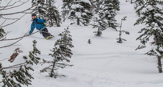 Mike Hardaker riding the Voile Artisan in the backcountry Photo Laura Patten | Mountain Weekly News