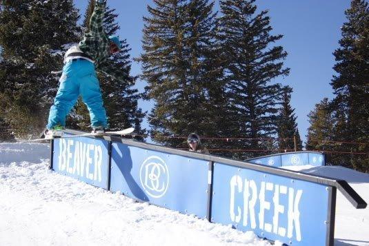Andrew Stewart Jibs at Beaver Creek Photo Mike Hardaker | Mountain Weekly News