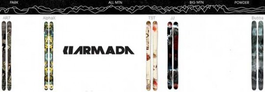 5 Skis from Armada that Rip