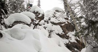 Pillow Drops with Snowboarder Mike Hood in the Northern Sawatch Range