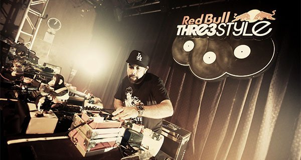 DJ Nu-Mark performs at Red Bull Thre3style National Finals Orlando, FL Photo: Robert Snow/Red Bull