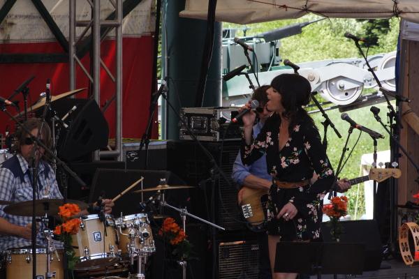 Nicki Bluhm & The Gramblers Targhee Fest Photo Mike Hardaker | Mountain Weekly News
