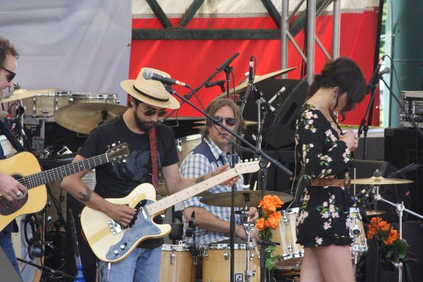Jackie Green and Nicki Bluhm & The Gramblers Targee Fest Photo Mike Hardaker | Mountain Weekly News